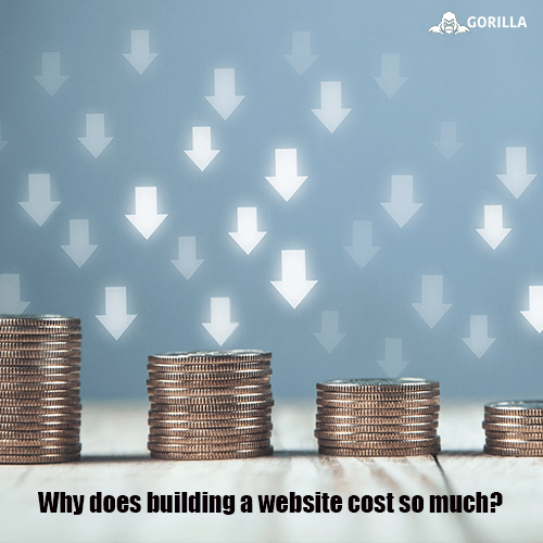 Why does building a website cost so much?